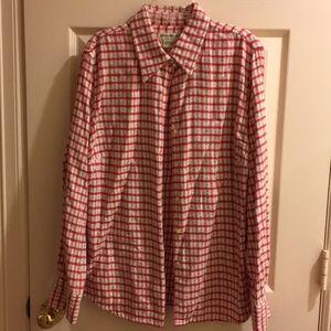 Eddie Bauer flannel shirt